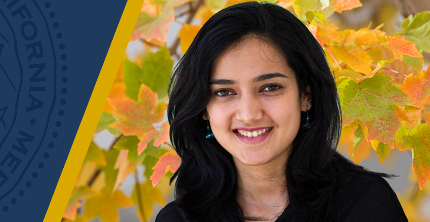 Ph.D. student Megha Suswaram was instrumental in assisting the Graduate Division transition its Graduate Orientation Week to an online format.